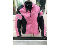 Ladies motorbike jacket/helmet