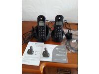 Twin Motorola c6 cordless phone