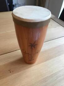 Wooden bongo / drum