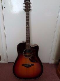 Yamaha A1M Electro-Acoustic in Vintage Sunburst