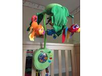 Fisher Price Rain Forest Cot Mobile