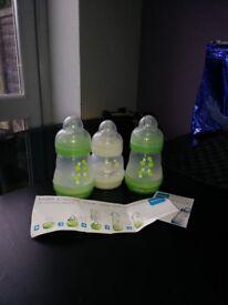 MAM Anti-colic bottles