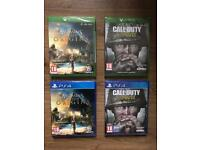 Brand new Assassins Creed Origins or Call of Duty WW2 WWII for PS4 or Xbox one S X