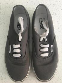 Two pairs Vans uk size 13.5