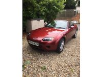 2008 Mazda MX5 - Spring is coming - time to lower your top! Lovely nippy fun-mobile for sale.