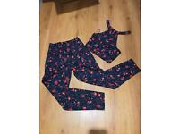 Misguided, Co-Od floral set, UK 6