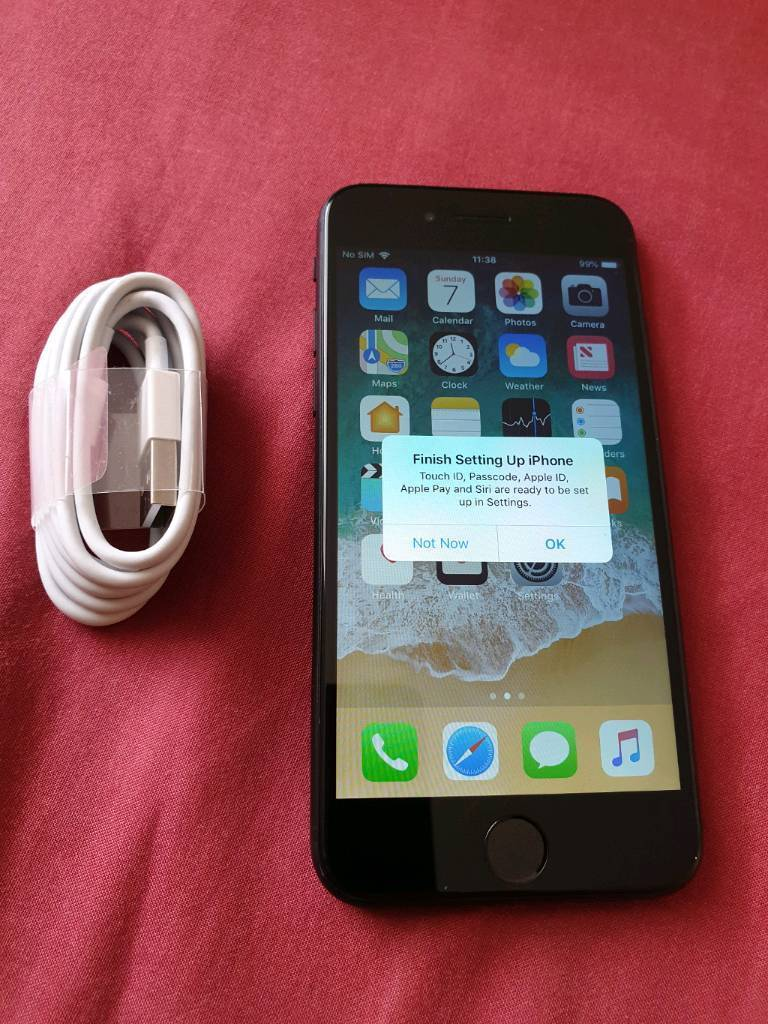 Iphone 7 32GB fully unlock and NO scratches or NO dents   in Cambuslang,  Glasgow   Gumtree