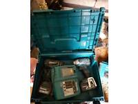 Makita 18v lxt twin set