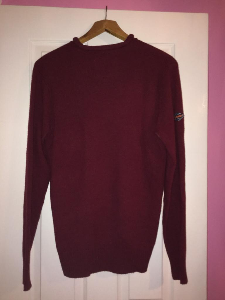 Red Superdry Jumper