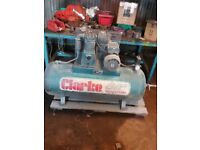 Clarke 230 volt industrial air compressor