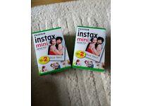 Instax mini film x40!