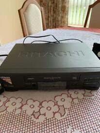 Hitachi VHS Video Cassette Player & Recorder