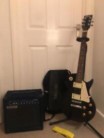 Electric guitar set up