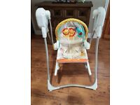 Fisher Price - 3 in 1 rocker swing. Used but in excellent condition.