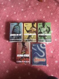 5 Charlie Higson books