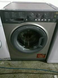 Hotpoint Silver 6kg Washing Machine, FREE LOCAL DELIVERY AND INSTALL Grey Graphite