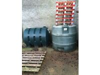 OIL TANKS FROM £35 - VARIETY AVAILABLE - slimline - behive etc