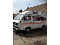 Classic 1986 vw campervan restored