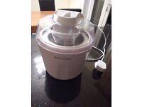 Andrew James 1.5 Litre Ice Cream Maker, Sorbet & Frozen Yoghurt Machine
