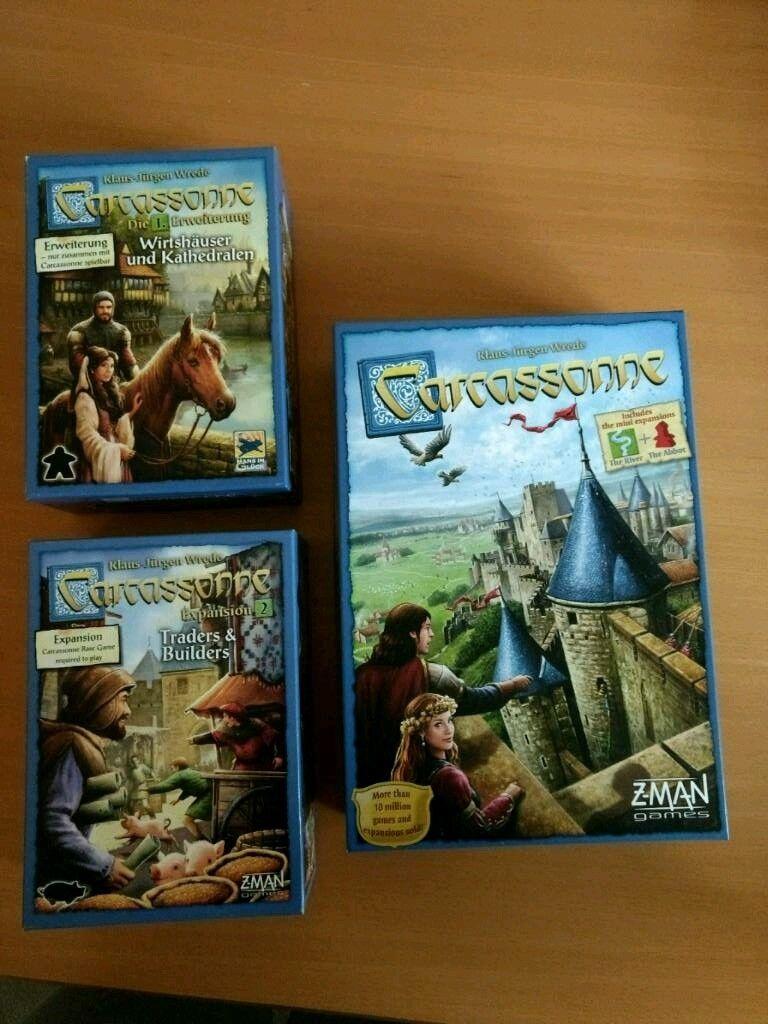 Carcassonne bundle pack