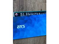 Standing ed sheeran ticket hampden