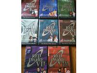 Dvd box sets of red dwarf, scrubs e.t.c