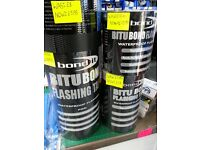 Bond It Bitu Bond Flashing Tape Roofs, Porches, Chimney Stack, Caravans, Conservatories, Gutteri