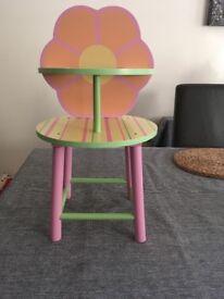 Baby Stella wooden high chair