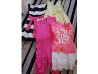 Gurls clothes bundle 5-6 x 8 items