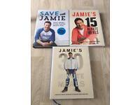 Jamie Oliver Cook Books x3