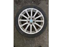 "17"" alloys 7J17H2 and 4x 205/45ZR17 tyres"