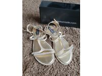 Gold sandals (new)