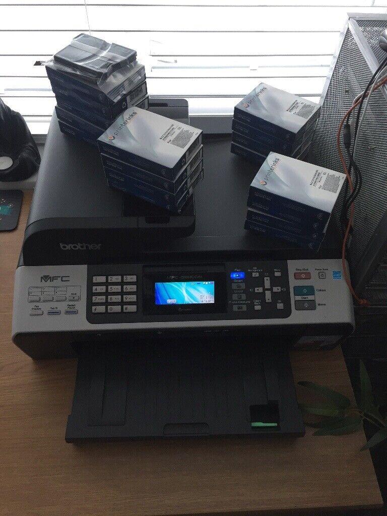 Brother Inkjet Printer MFC 5890 CN A3 printer scanner fax including  cartridges | in Swadlincote, Derbyshire | Gumtree