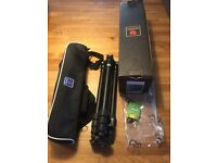 Benro camera tripod multi angle travelling unit with case