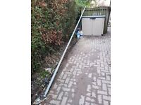 6m long 50mm dia metal aerial pole for immediate uplift. FREE