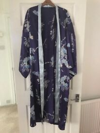 Ladies size 12-14 BHS satin dressing gown