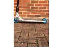 Scooter deck, clamp & forks