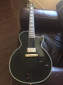 Black Gibson Les Paul Copy - Chibson