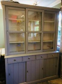 Modern Dresser Grey- comes apart for easy moving.
