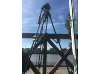 Professional Video Tripod Camlink TPVIDEO1 (carry bag & extra free plate included )
