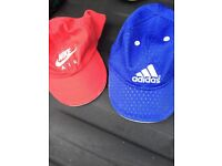 Two toddler boys adidas and Nike caps only £5