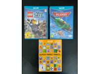 Lego City, Disney Planes, Super Mario Maker Wii U Games £5 each