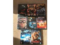 Sci-Fi DVD's, Knowing, Doom, G.I.Joe, Hancock, Starship Troopers, Battle of LA, Skyline, Iron Man 3