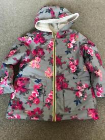 Joules girls coat size 8yrs