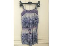 Monsoon playsuit size 8 yrs
