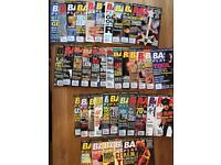 Huge collection Bass Player magazines