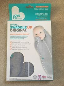 Swaddle up Original by love to dream - grey