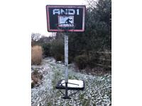 Basketball net and stand for FREE