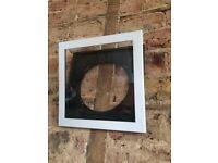 Six Art Vinyl Album Display Frames in White - £60 for the set
