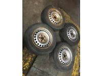 VW LT / Mercedes Sprinter set of wheels with tyres